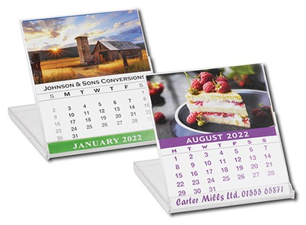 CD Case Style Calendar