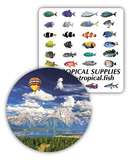 Gnalvic 3mm Coasters