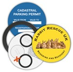 Magnetic Permit Holder